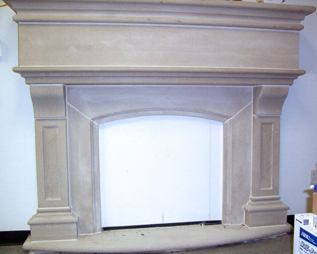 Texas Coral Limestone - Limestone Fireplaces And Mantels By Architectural Limestone Inc.