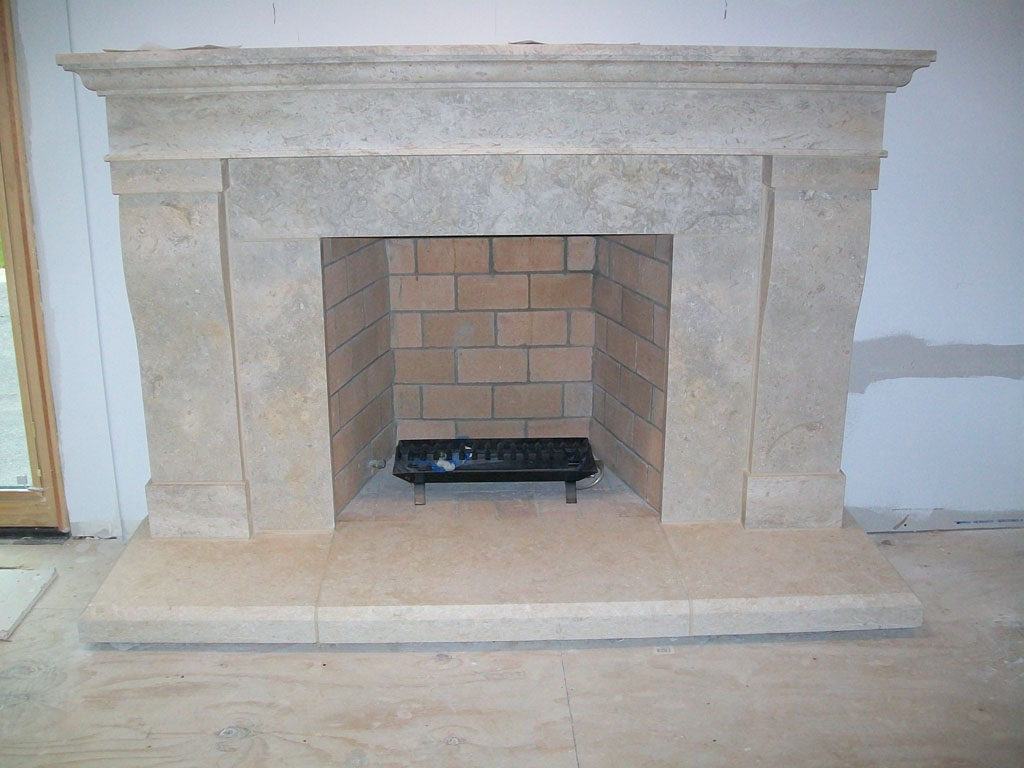 Limestone For Fireplace Surround Fireplaces